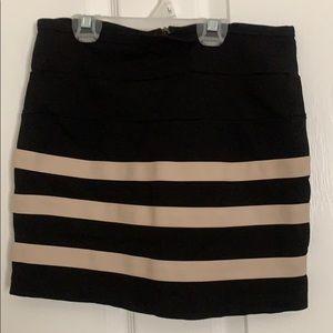 Women's pencil skirt above the knee